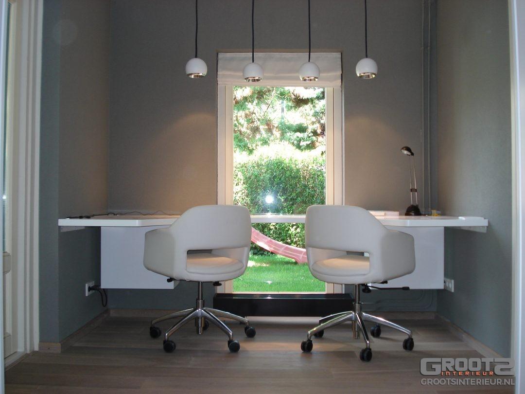 Maatwerk bureau door GrootS Interieur
