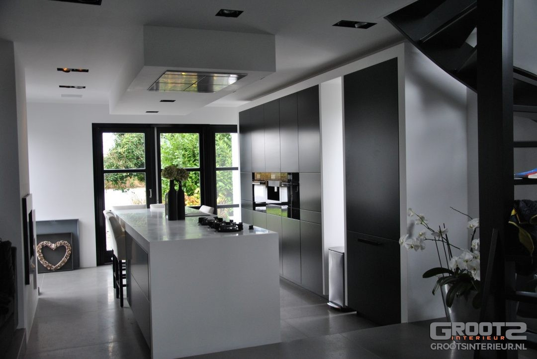 Moderne maatwerk keuken door GrootS Interieur